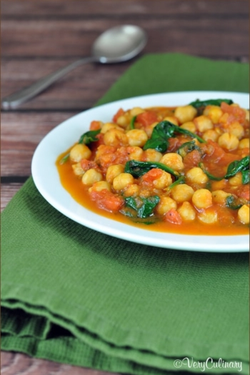 Easy Chickpea Curry | Very Culinary