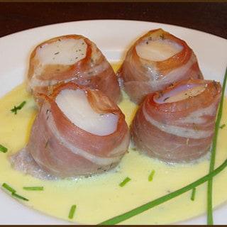 Prosciutto Wrapped Scallops
