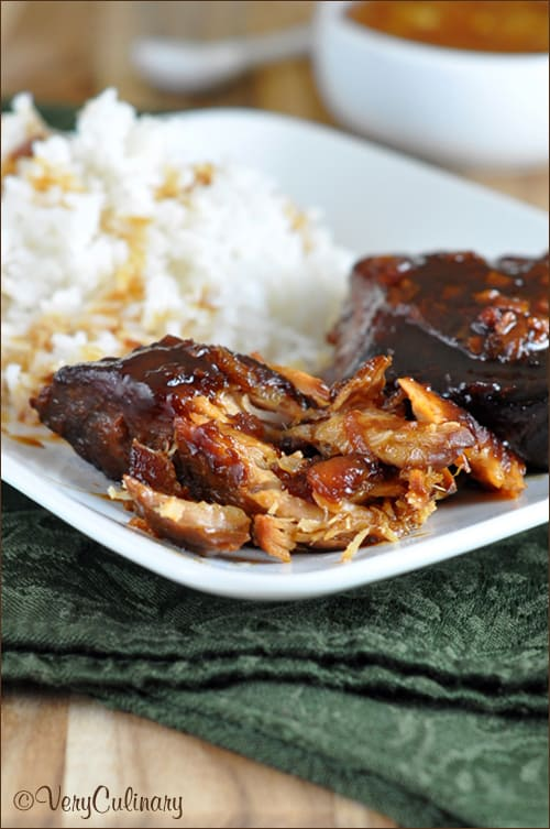 Slow Cooked Pork with Orange Marmalade - Belly Full