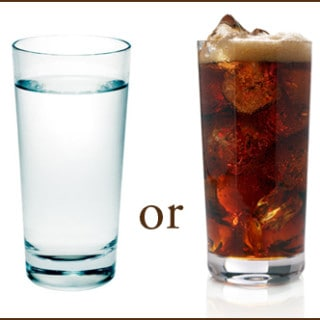 Let's Dish: Water or Soda?