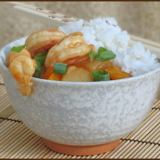 Hawaiian Shrimp Stir Fry