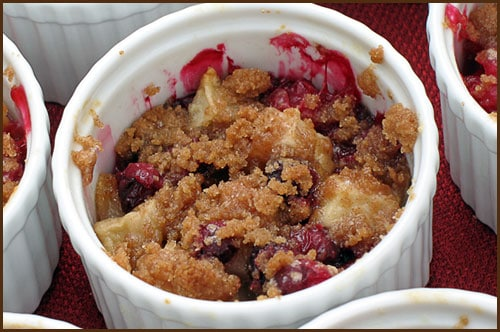 Apple Cranberry Crisp - Belly Full