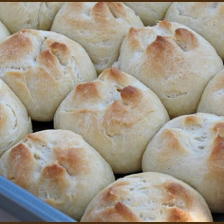 Parker House Rolls and a Guest Post