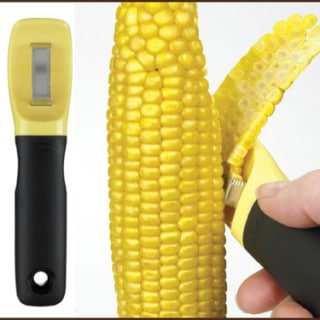 Grilled Corn with Feta and Lime – and an OXO Corn Peeler Giveaway