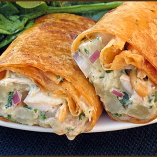 Thai Chicken Curry Wraps