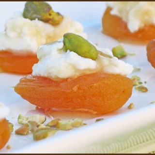 Apricot Canapes and an Oh! Nuts Giveaway