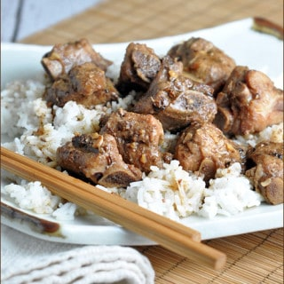 Chinese Pork Ribs with Black Bean Garlic Sauce