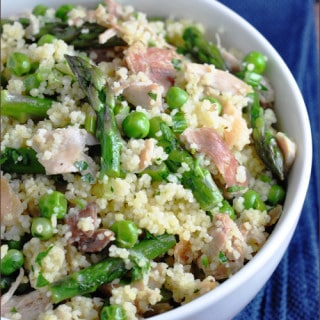 Spring Vegetable Couscous with Chicken