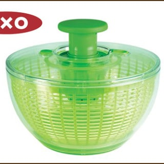 Video: It's The OXO Salad Spinner Giveaway!