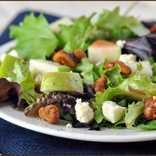 Apple-Salad_Sugar-Glazed-Walnuts_Blue-Cheese_Pomegranate-Vinaigrette_blog