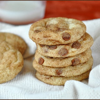 Snickerdoodles with Cinnamon Chips