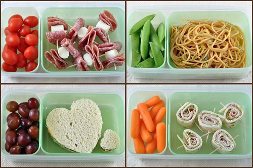 Back-to-School Lunch Ideas on www.bellyfull.net