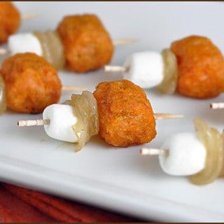 Sweet Potato Casserole Bites