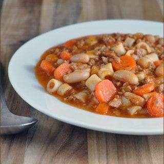 Tomato and Turkey Stew with Ditalini