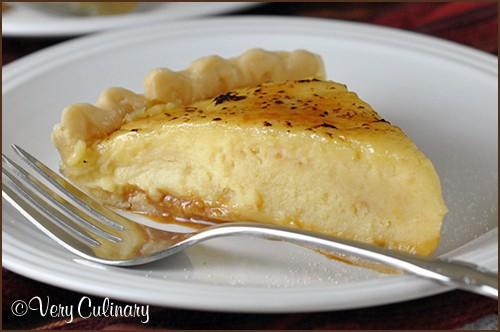 Caramel Creme Brulee Pie_