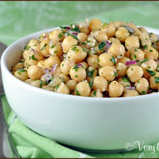 Cumin-Lime Chickpea Salad