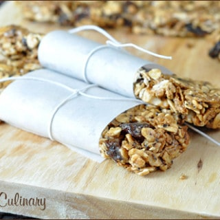 Breakfast Buzz Bars