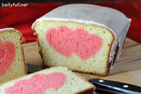 Heart Surprise Cake