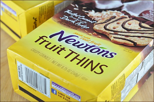 Newtons Fruit Thins packaging