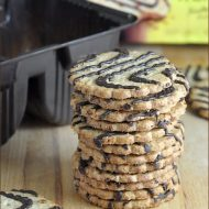 Newtons Fruit Thins Toasted Coconut Drizzled with Dark Fudge | Very Culinary
