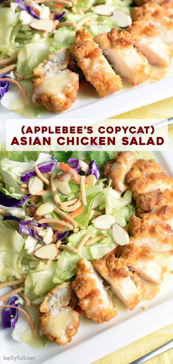 long pin for Asian Chicken Salad (Applebees Copycat)