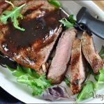 Fig Balsamic Glazed Beef | Very Culinary