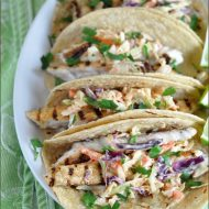 Grilled Fish Tacos with Chili-Lime Slaw   Very Culinary