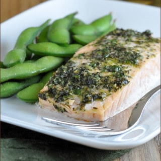 Bumble Bee SuperFresh™ Salmon with Garden Pesto | Very Culinary