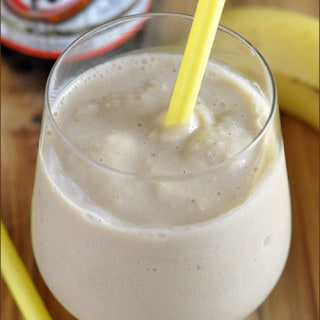 Skinny Root Beer Banana Smoothie | Very Culinary
