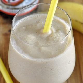 Summer of Smoothies (week 3): Skinny Root Beer Banana Smoothie