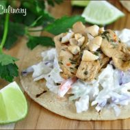 Asian Chicken Tacos | Very Culinary