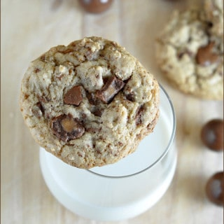 Malted Milk Ball Cookies from Very Culinary