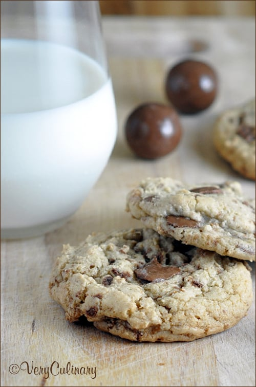 Malted Milk Ball Cookies | Very Culinary