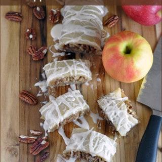 Apple Pecan Pie Roll