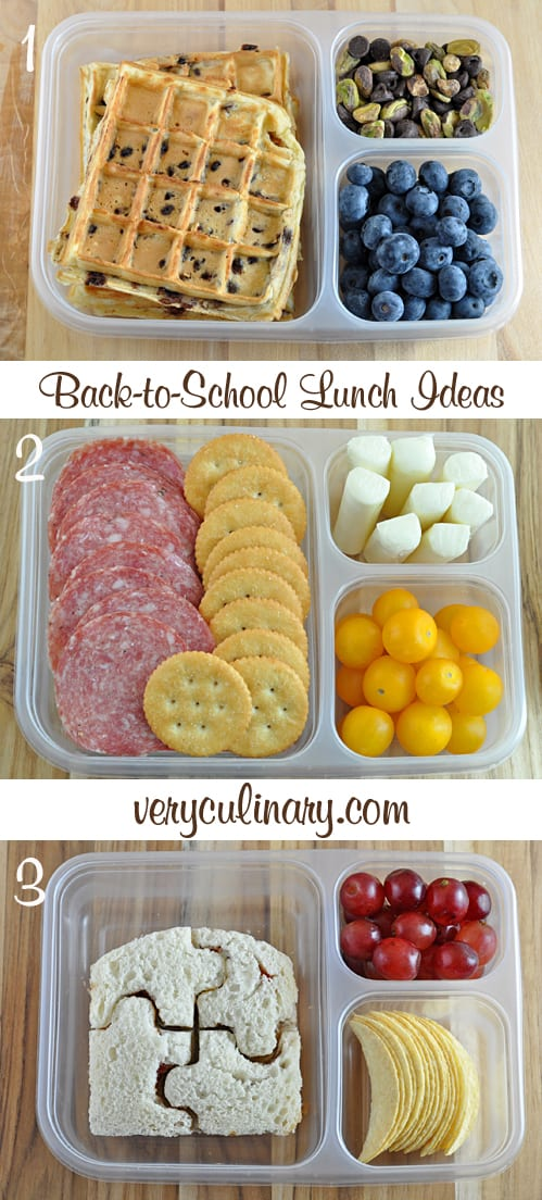 Back-To-School Lunch Ideas | Very Culinary