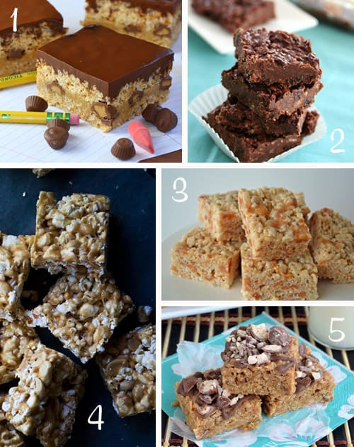 Back-to-School Bar and Krispie Treats Ideas | Very Culinary