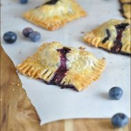 Blueberry-Coconut Mini Hand Pies from Very Culinary