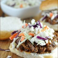 KRAFT Slow Cooker Hickory BBQ Beef Sandwiches | Very Culinary