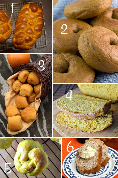 Pumpkin Round-Up (Bread)