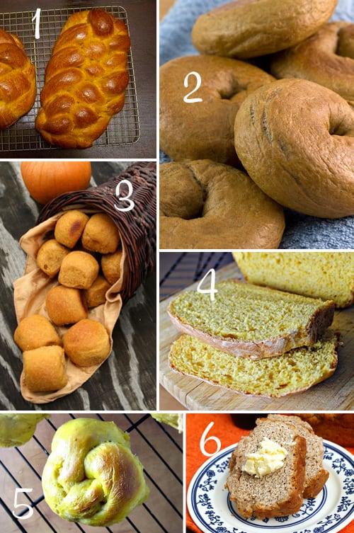 Pumpkin Round-Up (Bread)