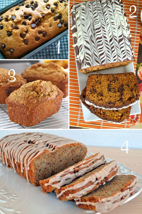 Pumpkin Round-Up (Cake Loaves)
