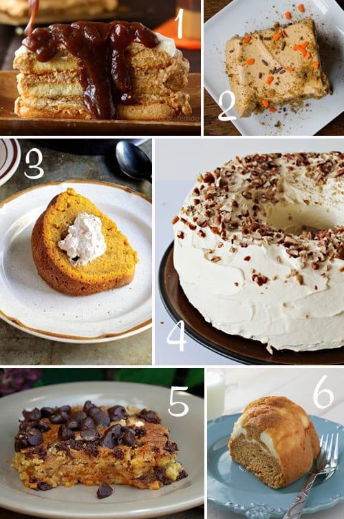 Pumpkin Round-Up (Cake)