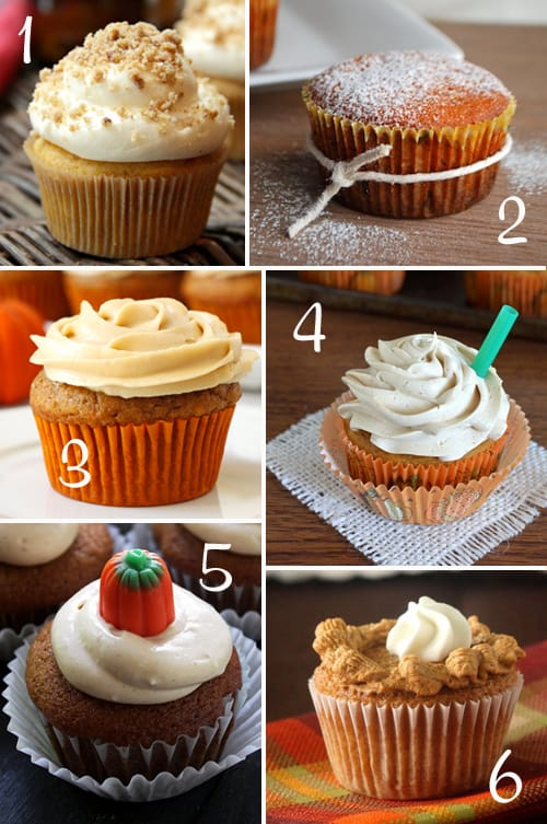 Pumpkin Round-Up (Cupcakes)