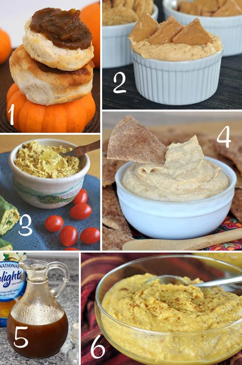 Pumpkin Round-Up (Dips, Spreads, Sauces)