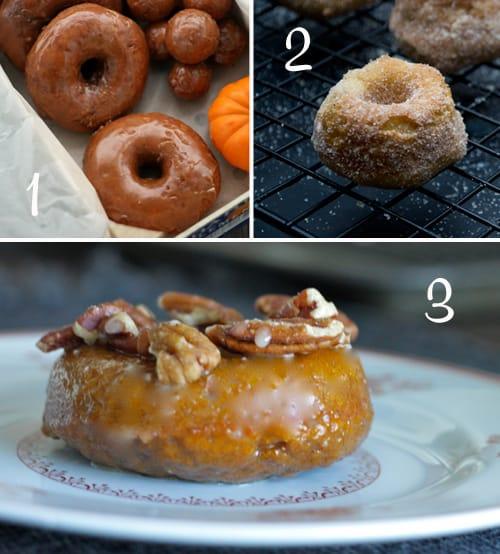 Pumpkin Round-Up (Doughnuts)
