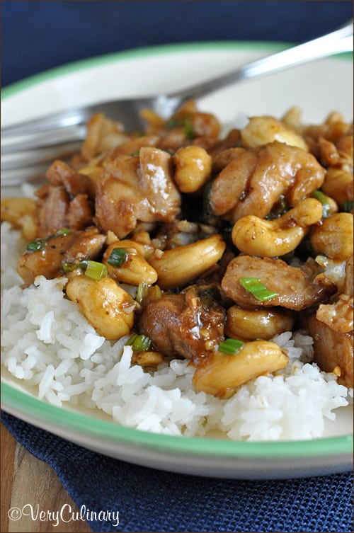 Easy Cashew Chicken | Very Culinary