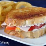 Grilled Muenster with Turkey, Tomato, and Thyme Spread | Very Culinary