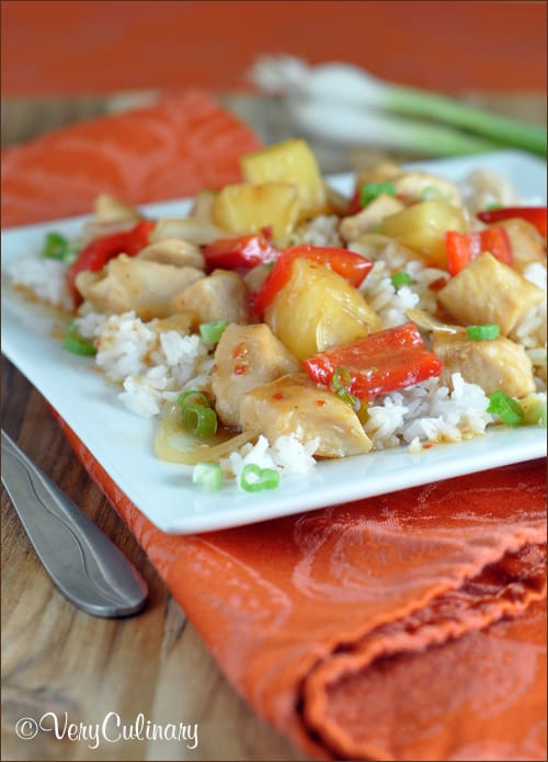Kraft Recipe Makers Sweet And Sour Chicken