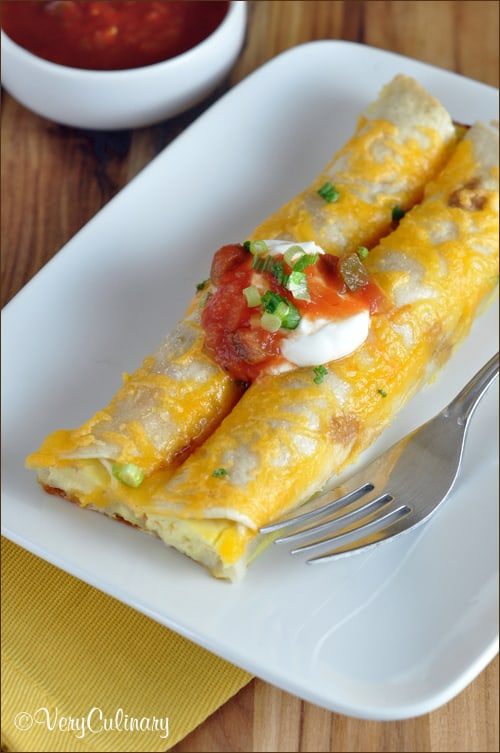 Make-Ahead Breakfast Enchiladas | Very Culinary