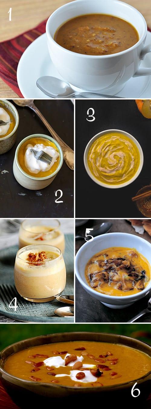 Pumpkin Round-Up (Soups)